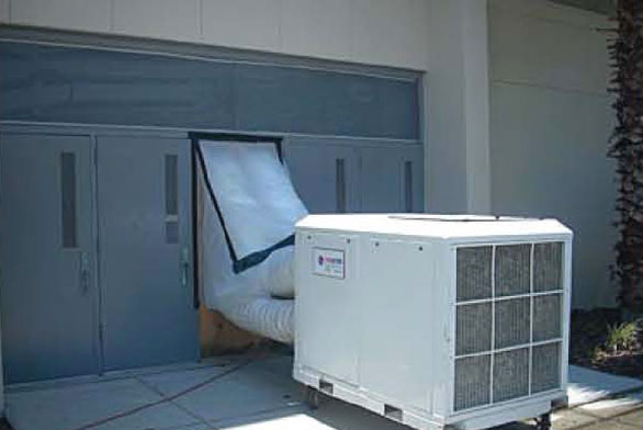 portable heating cooling chicago